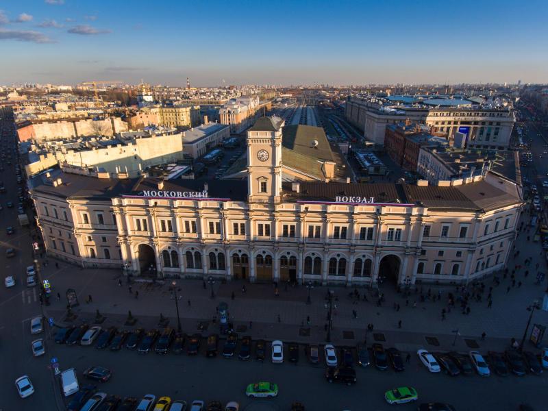 Moskau Bahnhof