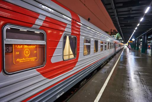 Lev Tolstoi train