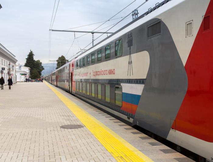 Doubledecker train