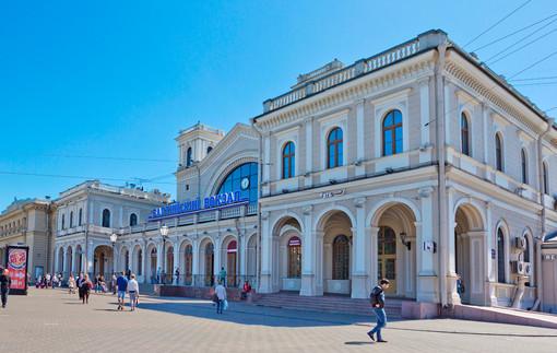 Gare ferroviaire de la Baltique